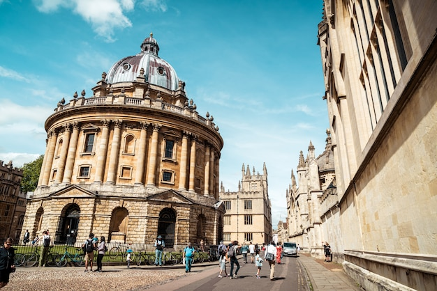 Radcliffe camera, bodleian library, oxford university, oxford, oxfordshire, anglia, wielka brytania
