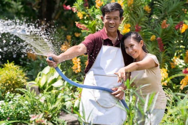 Radosne chwile w ogrodnictwie