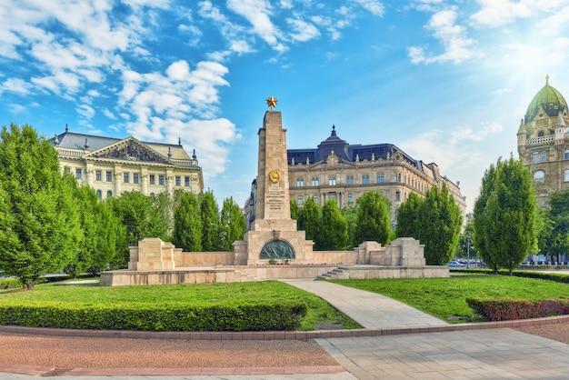 Radziecki pomnik na placu wolności