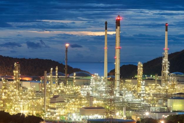 Rafinerie ropy naftowej, rafinerie i zakłady petrochemiczne