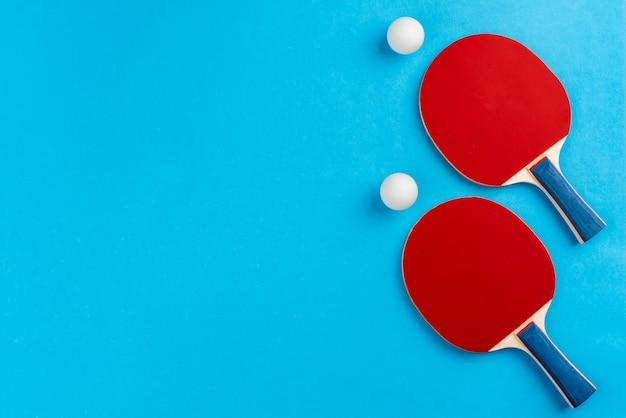 Rakiety do ping ponga i piłka