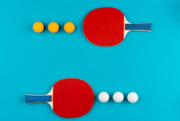 Rakiety do ping ponga i piłki