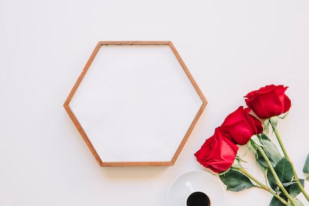 Rama i róże