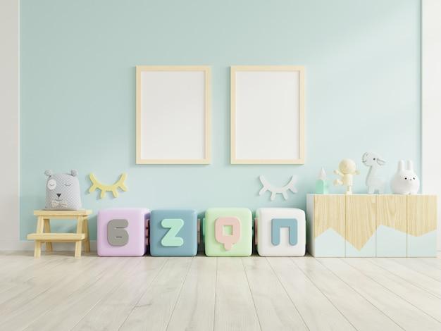 Rama plakatowa w pokoju dziecięcym, pokoju dziecięcym, pokoju dziecinnym