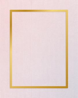 Rama z teksturą tkaniny