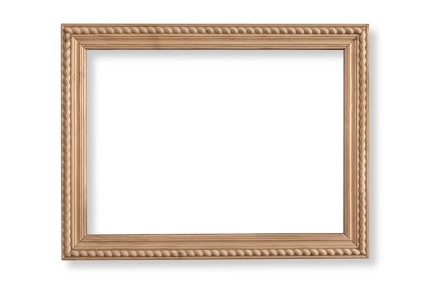 Ramka na zdjęcia na białym tle