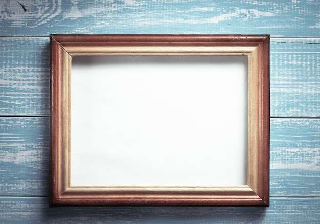 Ramka na zdjęcia na podłoże drewniane