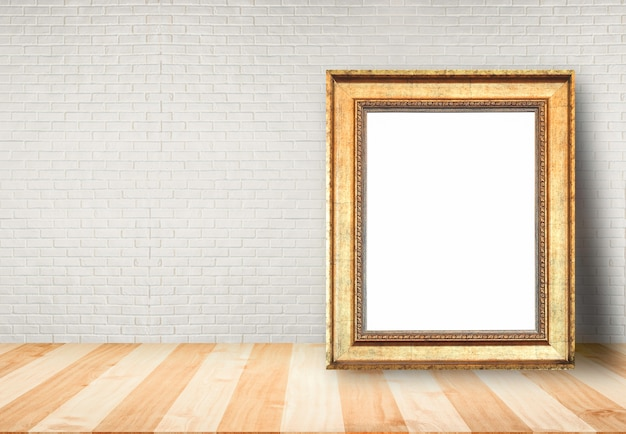 Ramka na zdjęcia na stole