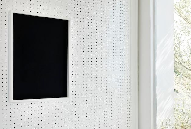 Ramka na zdjęcia projektowe powiesić na ścianie