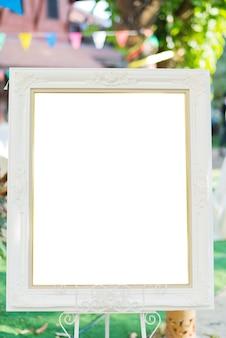 Ramka na zdjęcia, pusta ramka na tekst