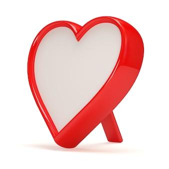 Ramka na zdjęcia w kształcie serca