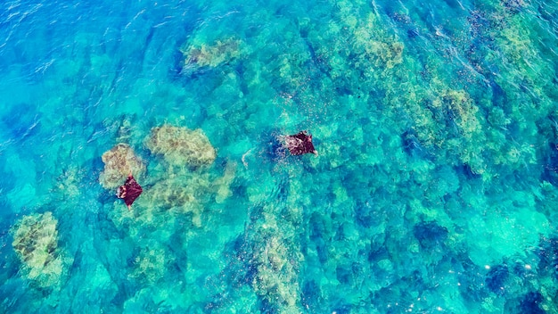 Rampa na powierzchni wody, male, bali