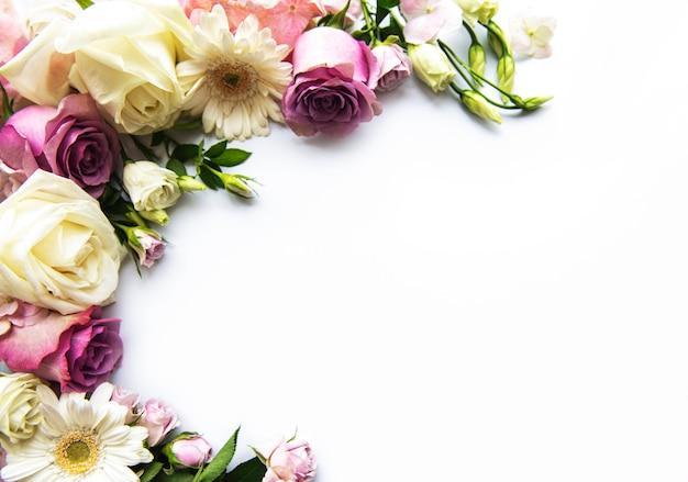 Ramy z kwiatów