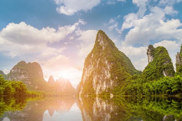 Rano wiejskich starożytnego hrabstwa dziewięciu chińskich