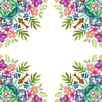 Raster banner ilustracja akwarela handdrawn. projekt zaproszenia, karty banerowej i wzoru tkaniny.