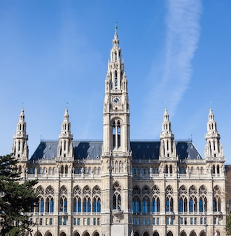 Rathaus, budynek ratusza w wiedniu