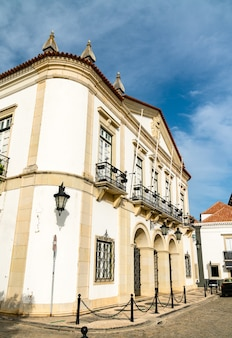 Ratusz w faro w portugalii