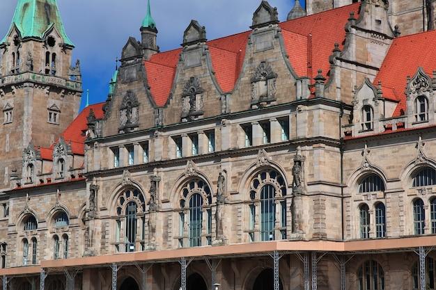 Ratusz w hanowerze, niemcy