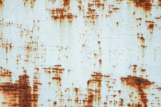 Rdza metalikorodująca rdza na starym żelazie użyj jako ilustracji do prezentacji
