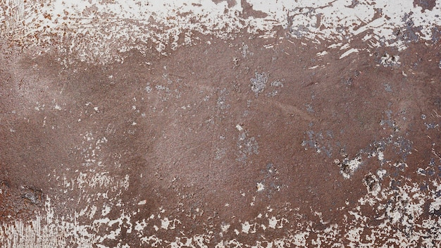 Rdza metalikorodująca rdza na starym żelaznym białym kolorze użyj jako ilustracji do prezentacjikorozji