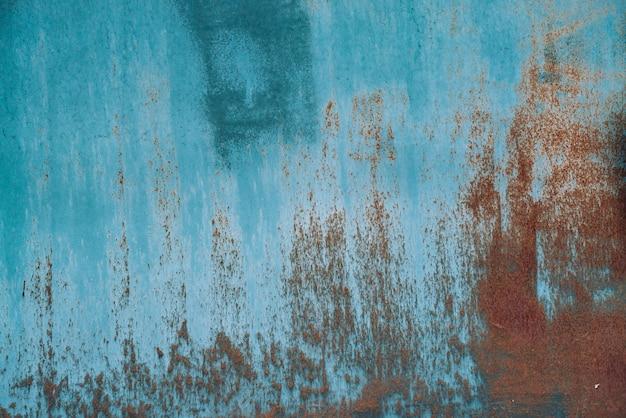 Rdza na powierzchni metalicznej. żelazna tekstura.