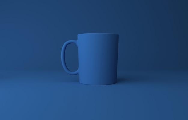 Realistyczna makieta kubka 3d renderowana