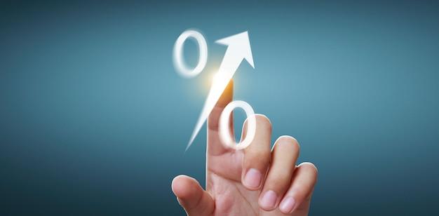 Ręce dotykają interfejsu ekranu przycisku globalne połączenie sieci klienta