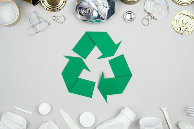 Recykling na płasko