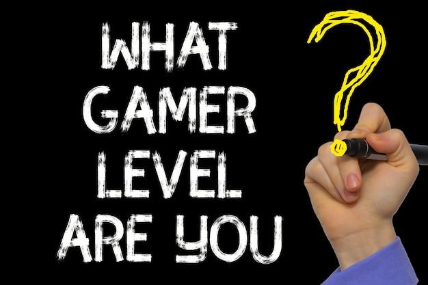 Ręczne pisanie tekstu: jakim jesteś poziomem gracza?