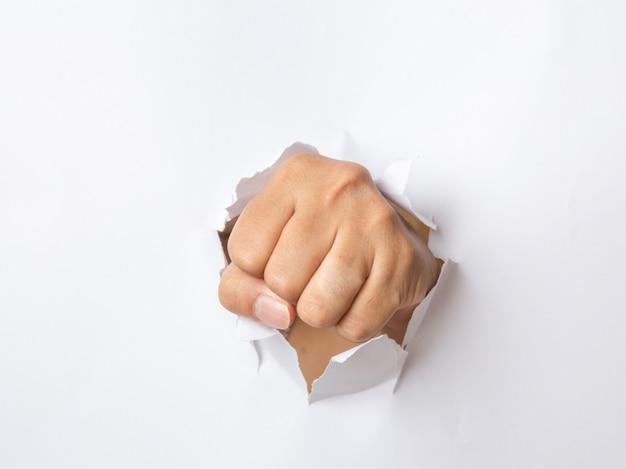 Ręczne przebijanie papieru