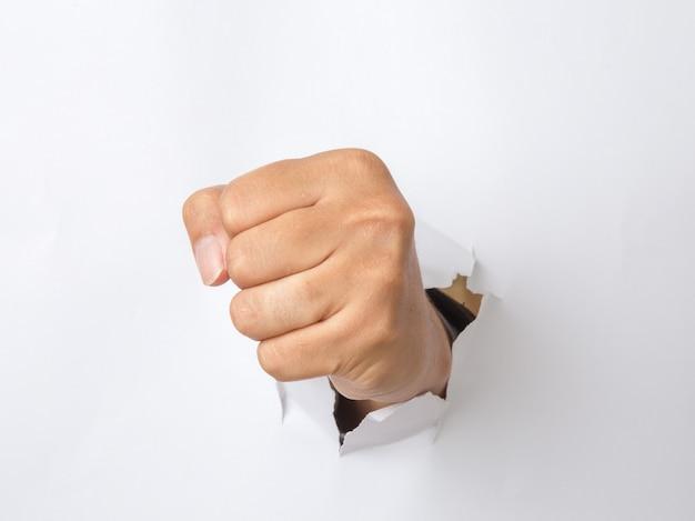 Ręczne wybijanie papieru