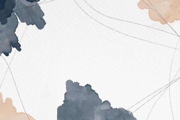 Ręcznie malowane abstrakcyjne tło akwareli na fakturze papieru