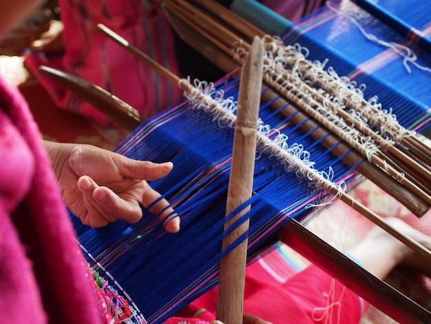 Ręcznie robiona tkanina