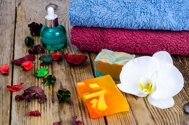 Ręcznie robione mydło spa.