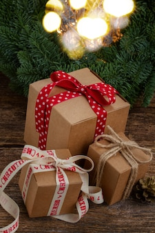 Ręcznie robione pudełko na prezent
