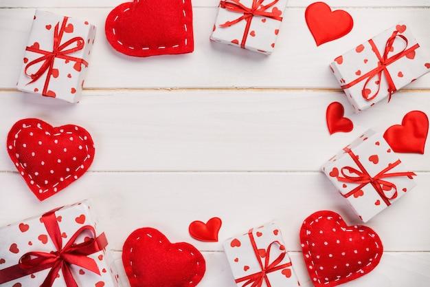 Ręcznie robiony prezent walentynkowy lub inny świąteczny