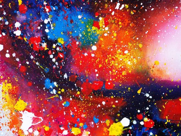 Ręcznie rysować kolorowe tło akwarela streszczenie i teksturowane
