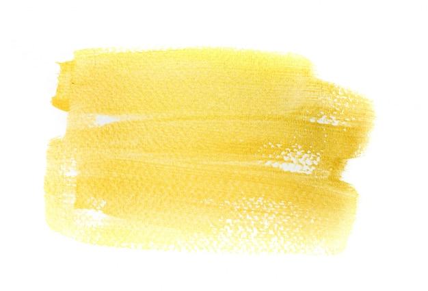 Ręcznie Złote Tło Uderzeń Premium Zdjęcia