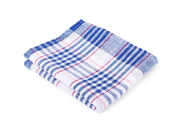 Ręcznik kuchenny na białym tle