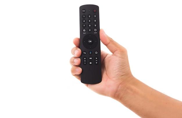 Ręczny panel zdalnego sterowania telewizora i audio
