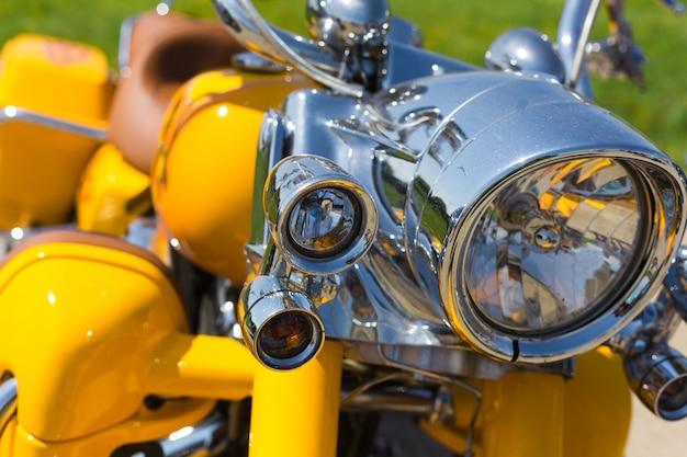 Reflektor motocyklowy
