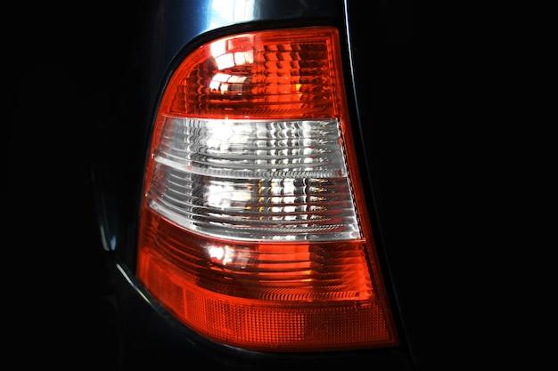 Reflektory samochodowe. luksusowe reflektory. część samochodu