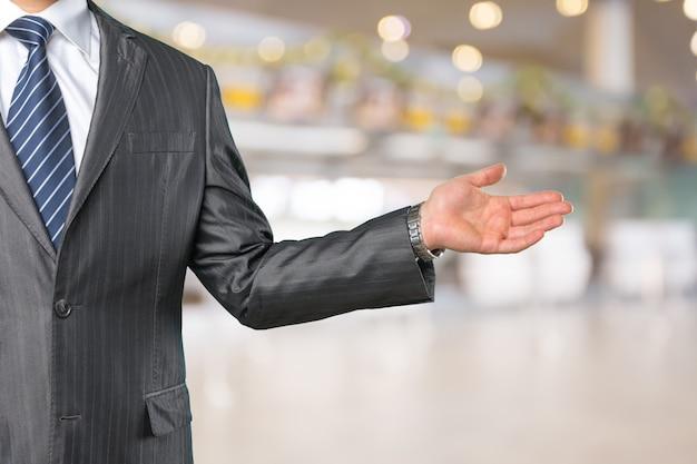 Ręka biznesowa