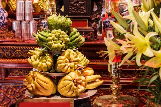 Ręka buddy lub owoc paluszków cytronowych