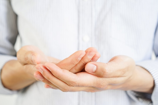 Ręka człowieka