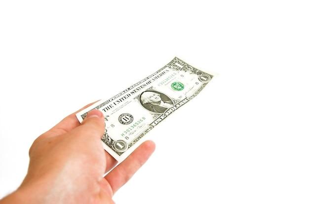 Ręka z rachunku