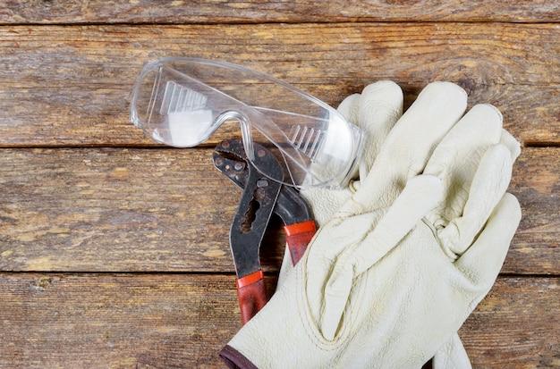 Rękawice ochronne do narzędzi budowlanych klucz bezpieczeństwa sprzętu budowlanego