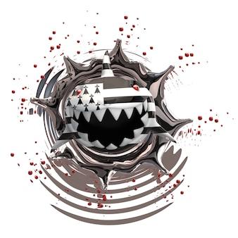 Rekinu pojęcie - 3d ilustracja