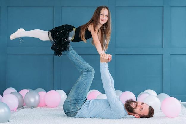 Relacja miłości ojca i córki