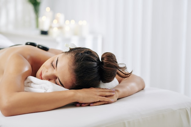 Relaksujący zabieg spa